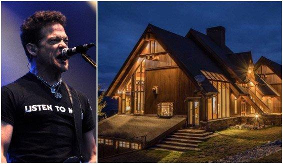 Търси се собственик за ранчото на Jason Newsted от Metallica Collage of Jason Newsted and his Montana ranch