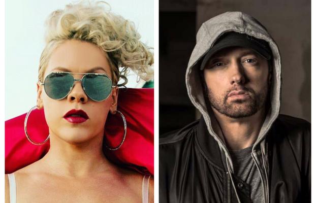 """Pink и Eminem си устройват """"Отмъщение"""" в дует. MMTV Pink and Eminem collage"""