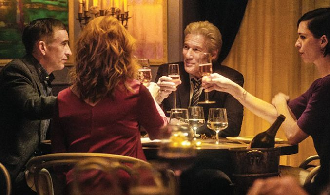 CineLibri: Ден 10 - Вечерята... MMTV Online... Richard Gere, Laura Linney, Steve Coogan and Rebecca Hall in a scene from 'The Dinner'