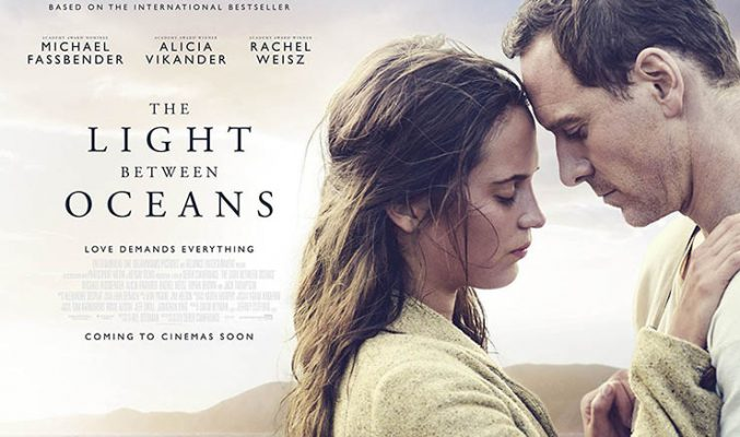 MMTV на CineLibri: Ден 11 - Светлина между два океана Alicia Vikander and Michael Fassbender on the movie poster of 'The Light Between Oceans'