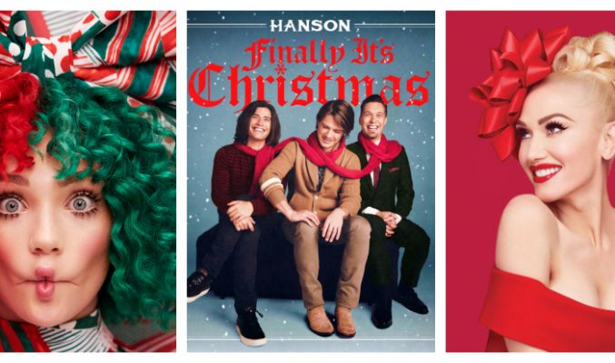 Какво ново за тананикане тази Коледа? MMTV Online Christmas albums 2017 collage