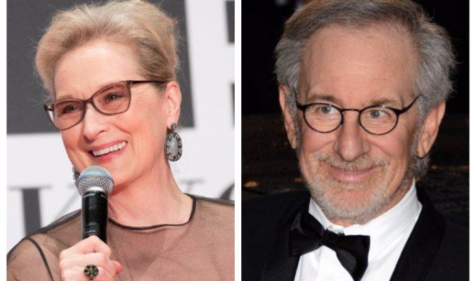Meryl Streep гонила духове от къщата на Steven Spielberg