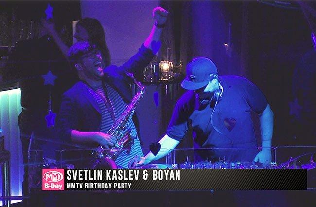 Телевизия MMTV отпразнува своя първи рожден ден с зашеметяващо парти в клуб Carrusel.