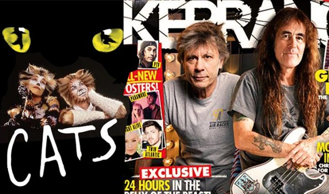 Мюзикълът Cats в НДК и Steve Harris пред Kerrang! MMTV