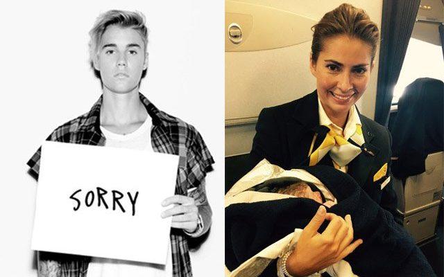 Justin Bieber отлага турнето си, а българче се роди в Lufthansa
