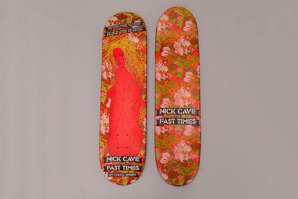 Nick Cave със собствена серия скейтборди