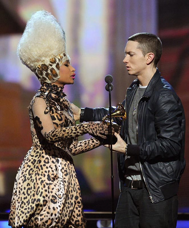 Nicki Minaj, Eminem, girlfriend, boyfriend