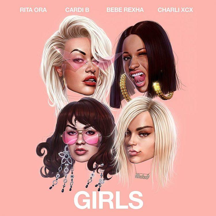 Rita-Ora-Cardi-B-Bebe-Rexha-Charli-XCX-Girls-video