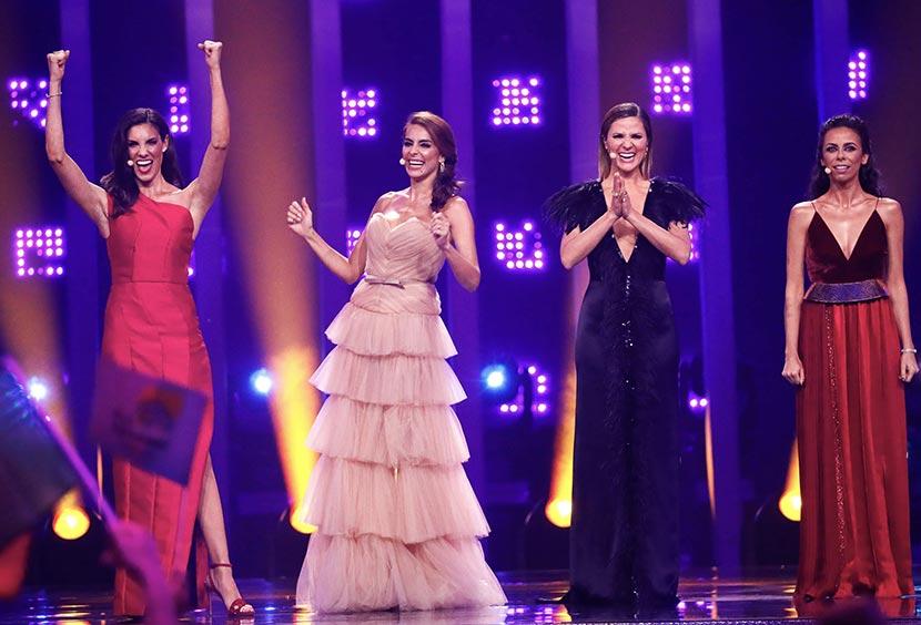 hosts, eurovision 2018, Daniela Ruah