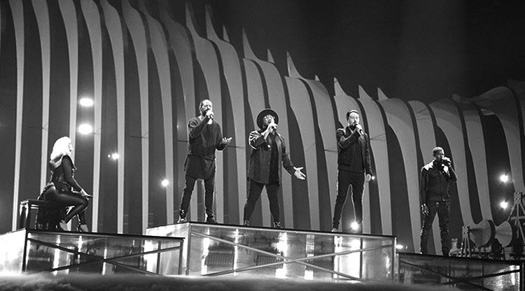 equinox,on stage,bones,eurovision 2018