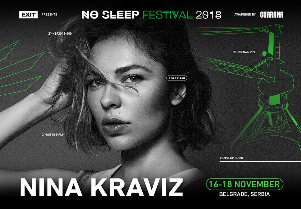 Nina Kraviz at no sleep festival in belgrade