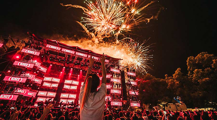 Opening ceremony на EXIT Festival 2018   MMTV