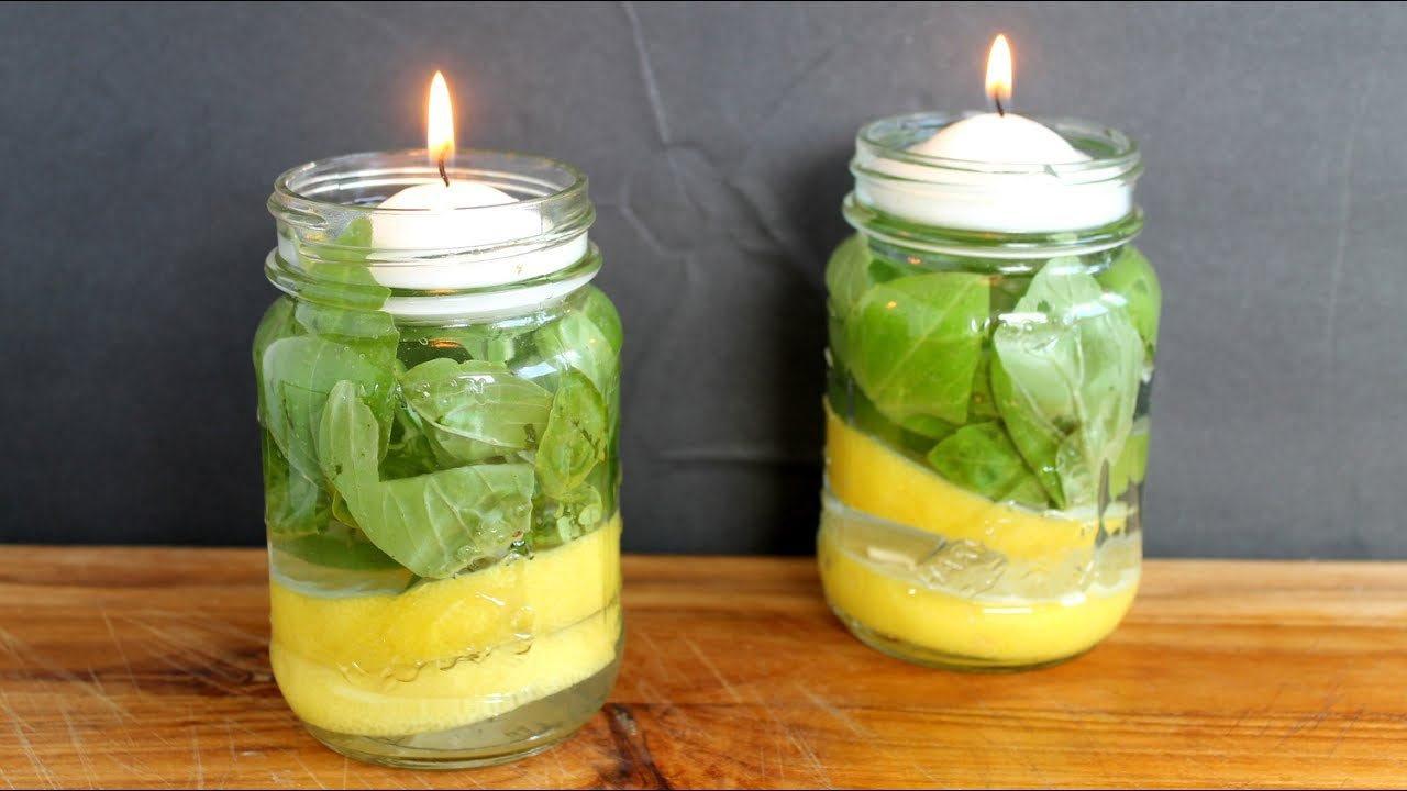 Създайте свещи с вдъхновяващи, свежи и полезни аромати! Освободжадайки приятното си уханието за нас, и непосилна миризма за комарите ще се чувствате защитени в дома си.