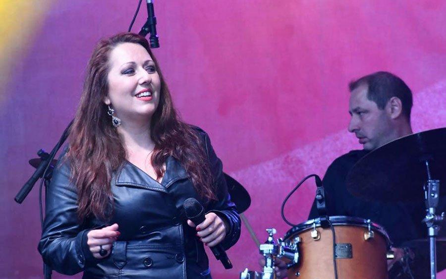 Militsa Gladnishka on a to jazz festival