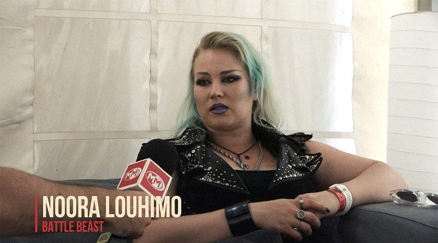 Тома разговаря с Noora Louhimo от Battle Beast специално за MMTV