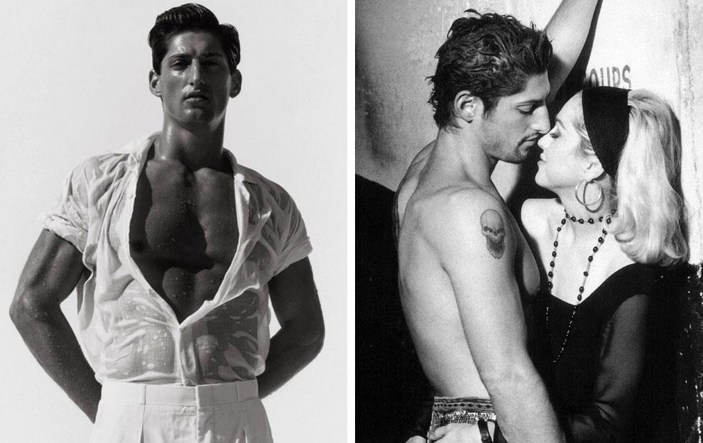 Tony Ward, модел. Красавецът, който познаваме от музикалния клип на ''Justify my love'', излиза с Мадона в началото на 90-те.