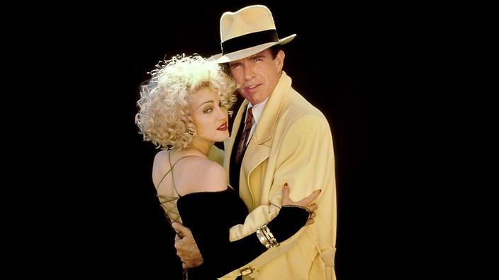 Warren Beatty, актьор. Мадона започва връзката си с него по време на снимките на филма Dick Tracy.