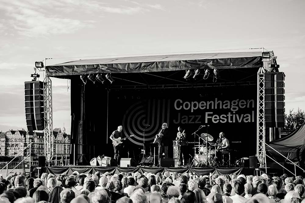 scene at Copenhagen jazz fest