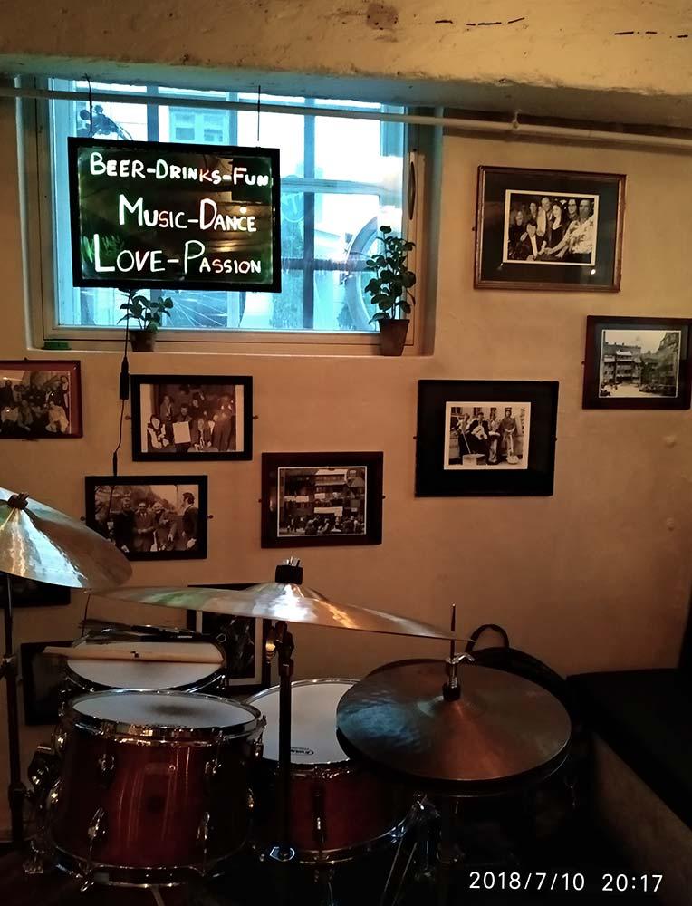 wall photographs at sofie kaelderen, Copenhagen
