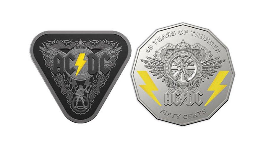 Издават AC/DC монети по случай 45 годишнината на бандата | MMTV