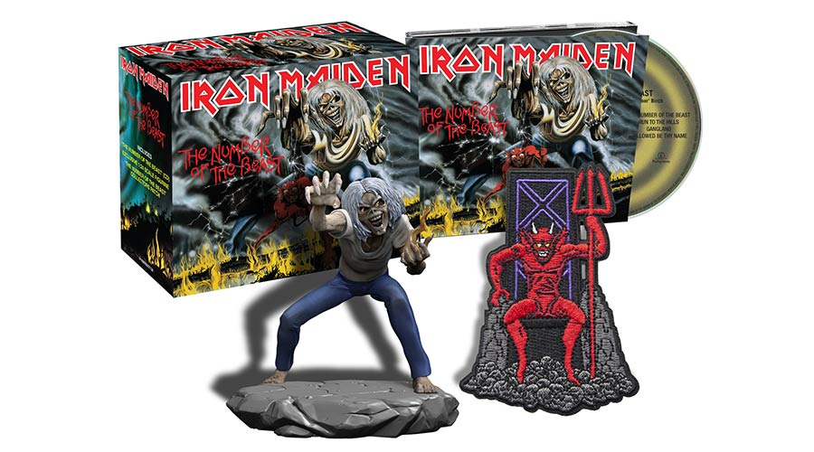Iron Maiden издават всичките си албуми в диджипак формат