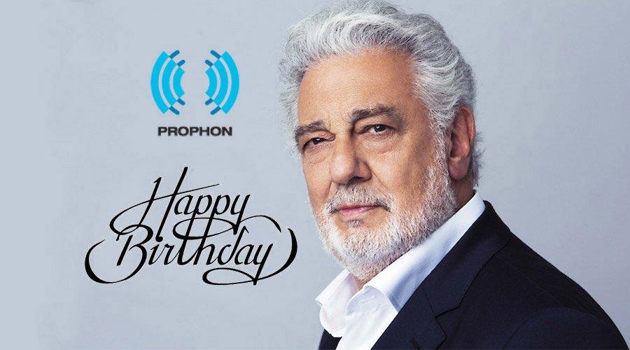 Пласидо Доминго изпрати поздрав за 20-ия рожден ден на ПРОФОН