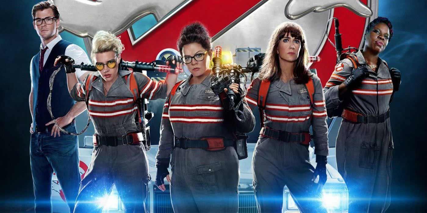 """В крайна сметка Ghostbusters се завърна на големия екран през 2016г., под формата на """"рестартиране"""" на проекта с промяна в пола на главните актьори."""