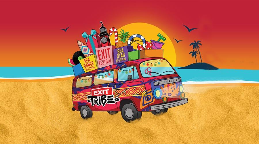 Всички притежатели на билети за EXIT Festival ще получат награда!