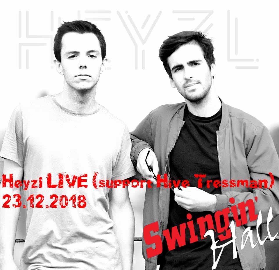 Heyzl LIVE (support Hive Tressman) | 23 декември 2018г. Swingin'