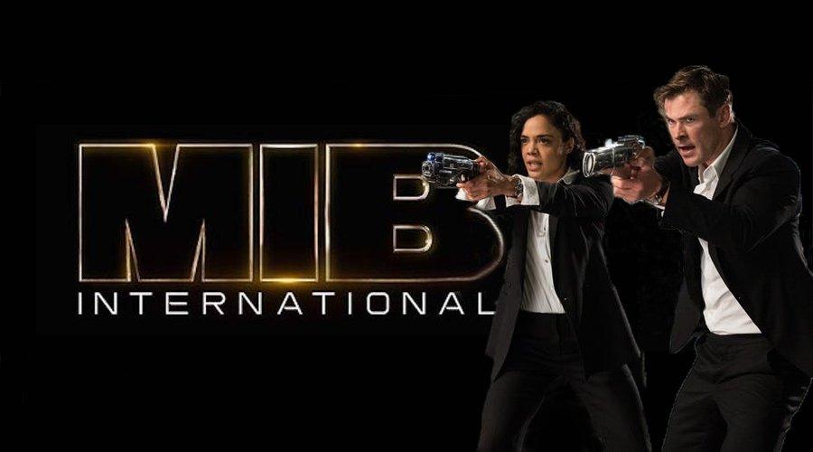 Men In Black International с Chris Hemsworth и Tessa Thompson