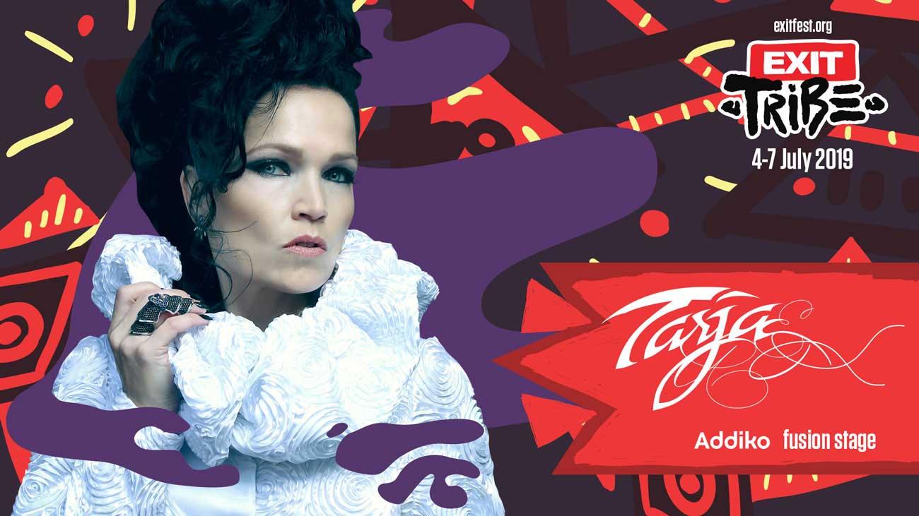 EXIT Festival посреща още една емблематична фигура на метал сцената Tarja Turunen!