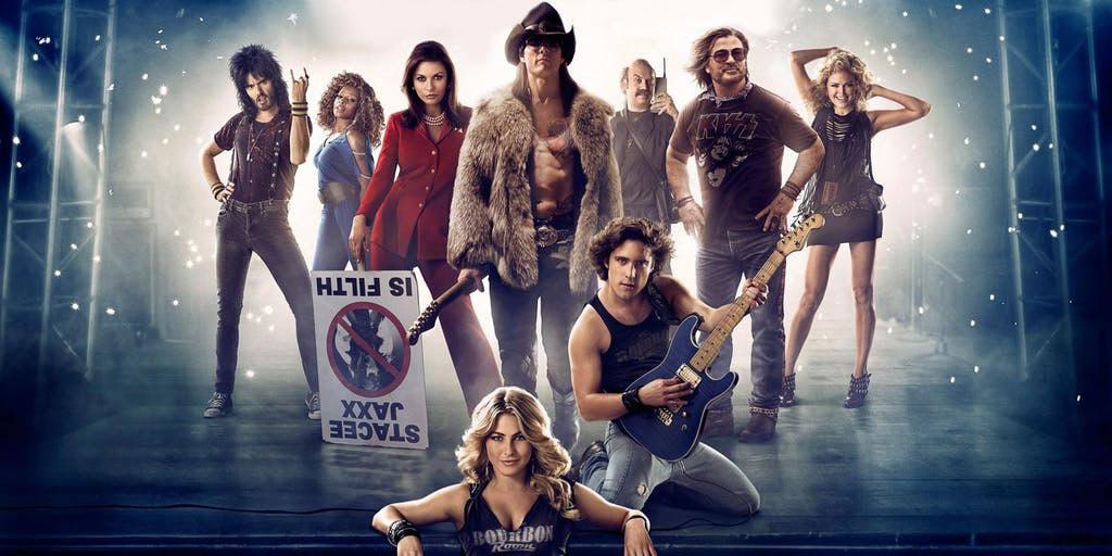 Rock of Ages, който включва рок песни от 80-те години на миналия век също се оказа голям успех без да е биографичен