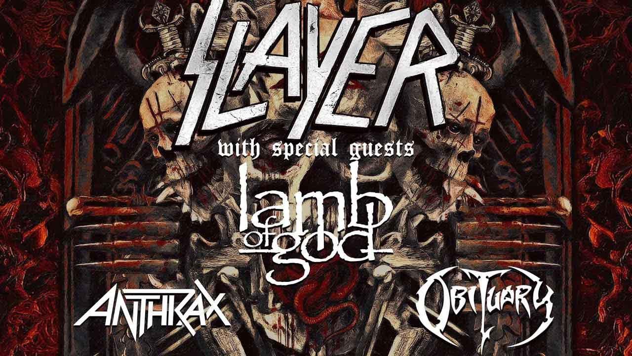 Само преди броени дни Slayer, с подкрепата на съмишлениците от Lamb Of God, Anthrax и Obituary, претопиха остатъка от напълно разпродадени концерти от едномесечната европейска обиколка, планирана като финална.