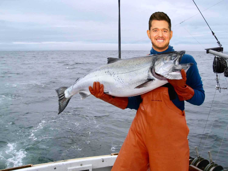 Michael Bublé е работил като рибар. - Бащата му е бил рибар и когато Майкъле на 14 години той започнал работа с него. Това продължило цели 6 години.