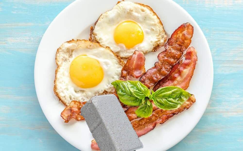 Яйца с бетон ядох!