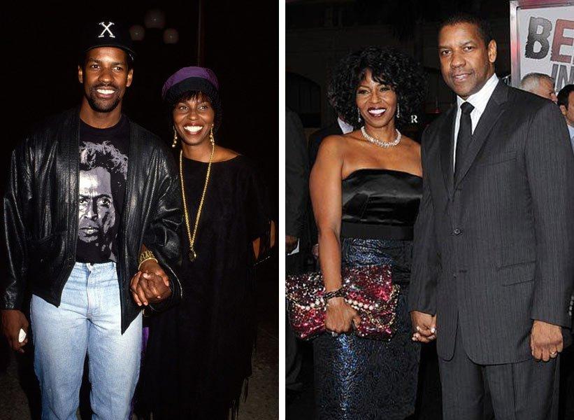 Denzel Washington и Pauletta Washington - заедно от 36 години