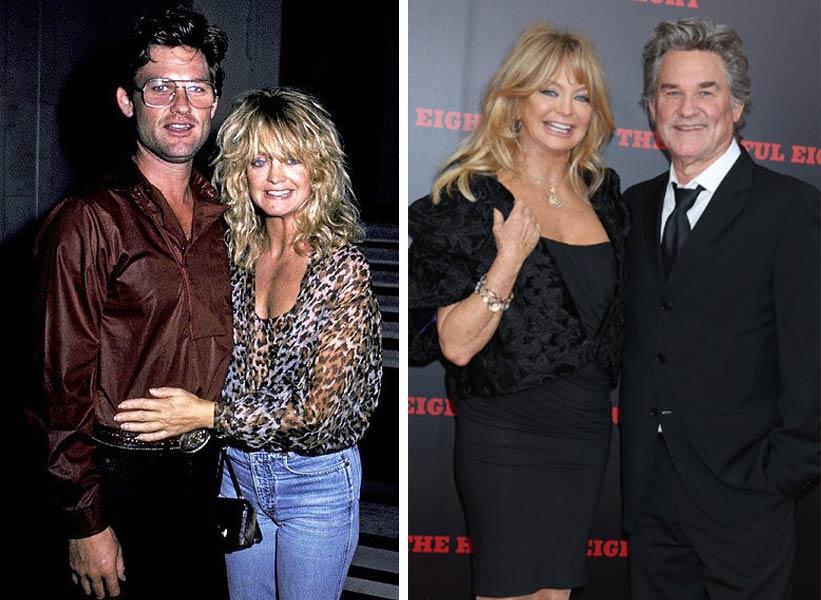 Goldie Hawn и Kurt Russell