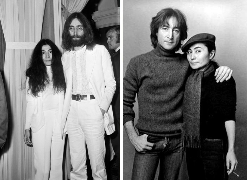 John Lennon и Yoko Ono - заедно 11 години