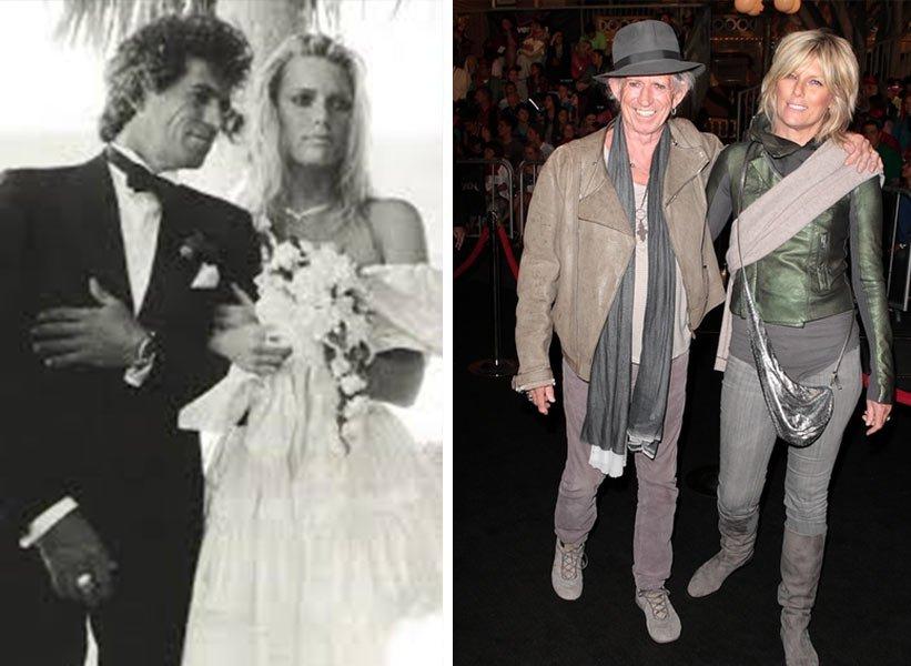 Keith Richards и Patti Hansen - заедно от 36 години
