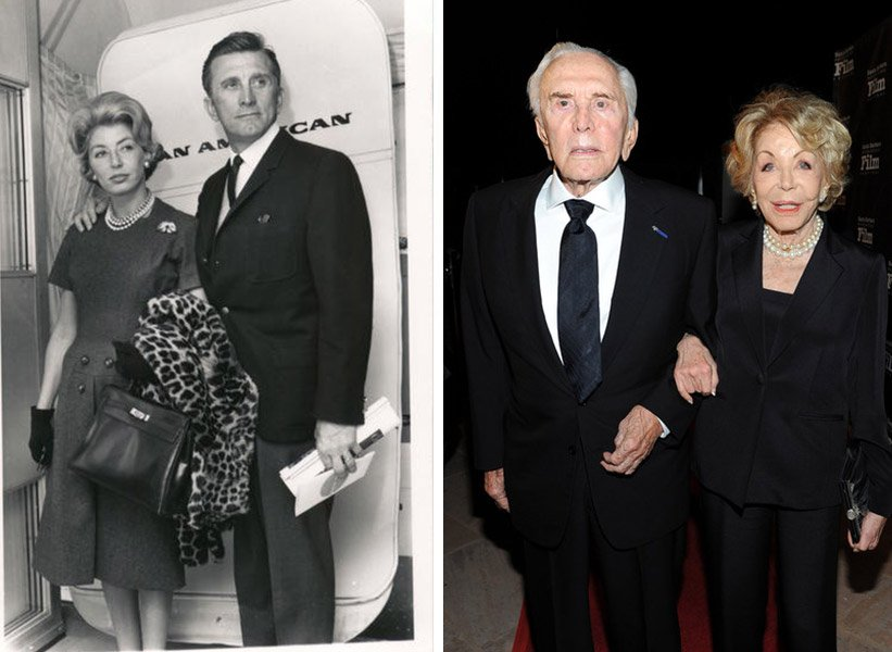 Kirk Douglas и Anne Buydens - заедно от 65 години