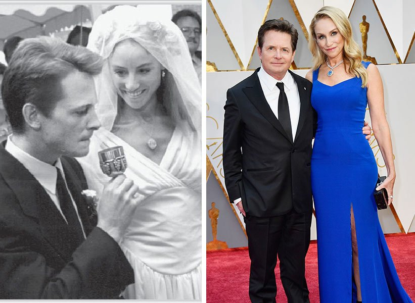 Michael J. Fox и Tracy Pollan - заедно от 31 години