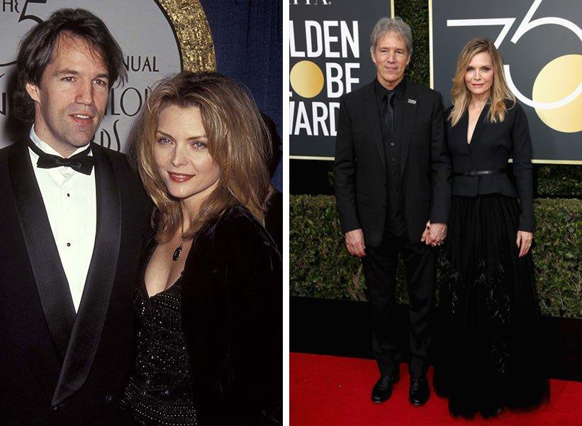 Michelle Pfeiffer и David E. Kelley - заедно от 26 години