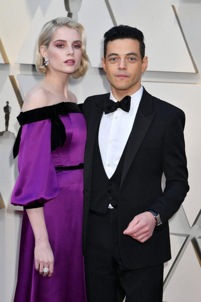 Rami Malek and Lucy Boynton