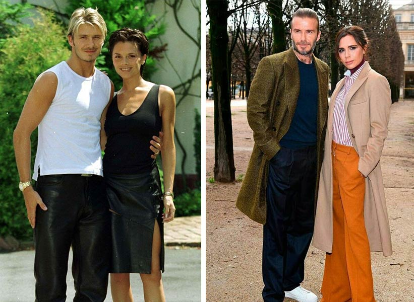 Victoria Beckham и David Beckham
