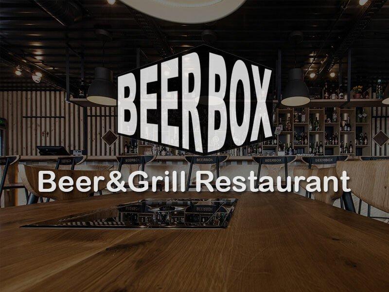 Beer Box, първият ресторант направен от транспортни контейнери