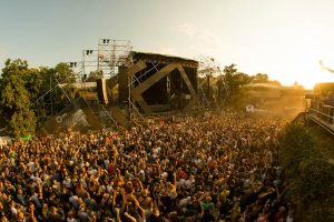 overview of the dance arena at exit festival