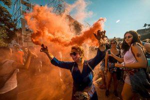 fans dancing to exit festival