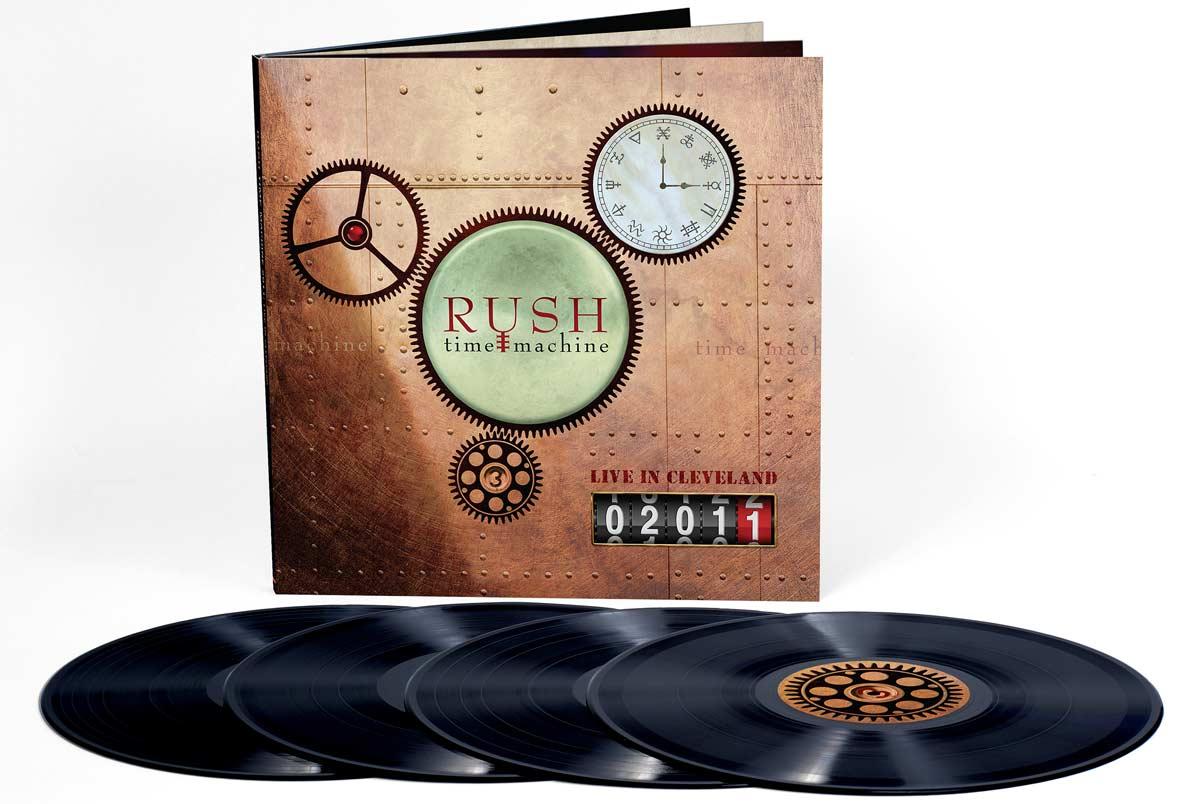 """""""Time Machine 2011: Live In Cleveland"""" на Rush ще бъде на музикалния пазар от Орфей Мюзик, изключителен лицензиант на Warner Music International."""