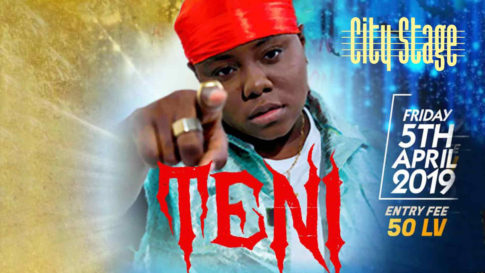 05 април 2019 г. 23:00 ч. City Stage | TENI LIVE IN SOFIA
