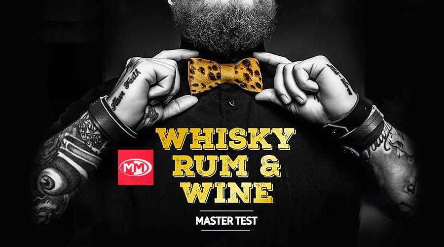 Whisky Rum Wine Master Test